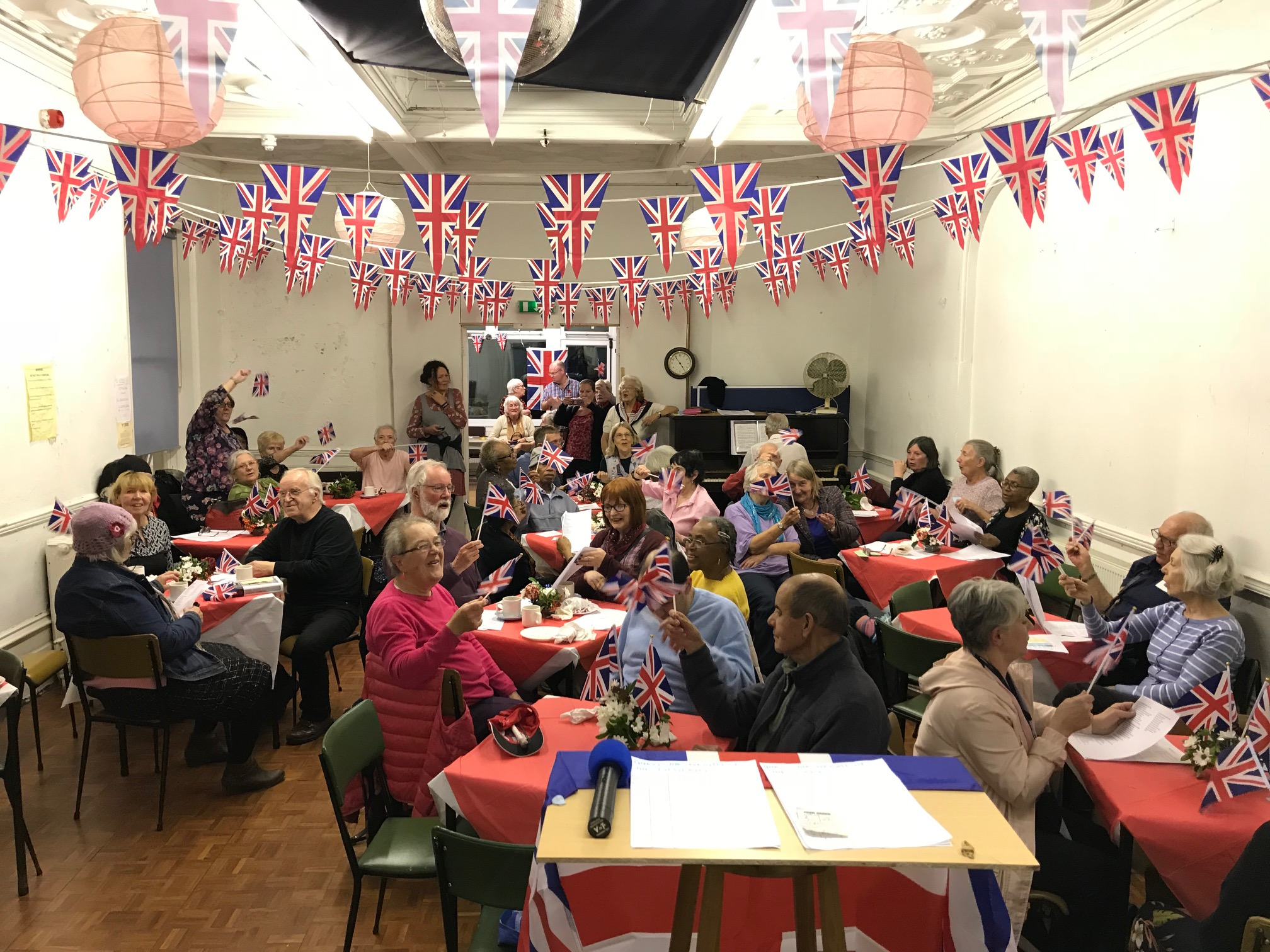 End of WW1 centenary Celebration 2018