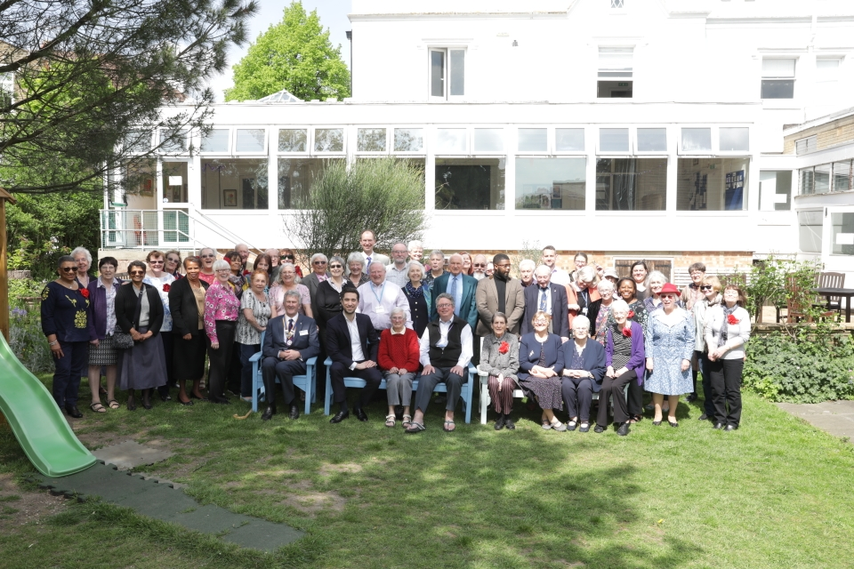 70th Anniversary Group Photograph